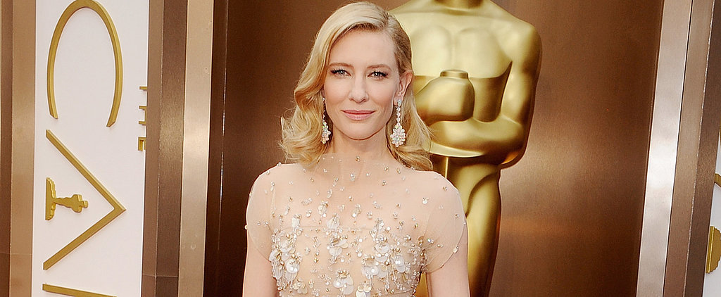 Vote: Cate Blanchett Goes For the Princess Vibe Tonight