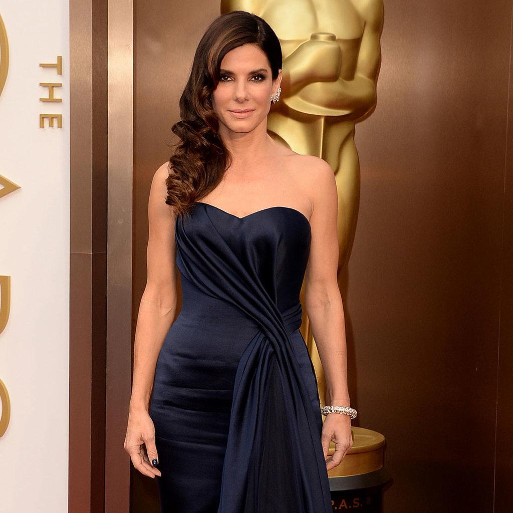 Sandra Bullock Alexander McQueen Dress at Oscars 2014
