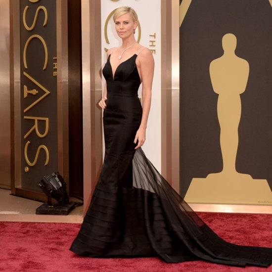 Charlize Theron Dior Dress at Oscars 2014