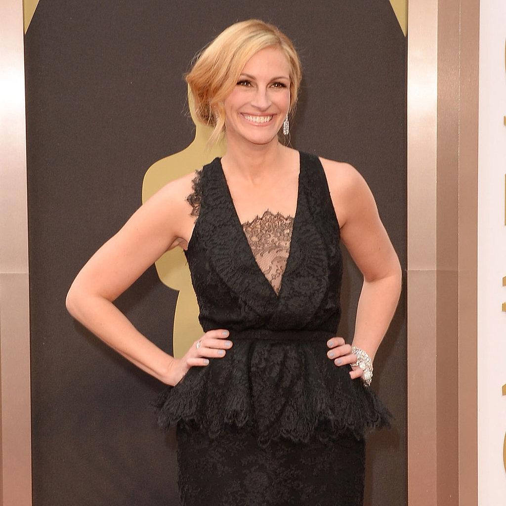 Julia Roberts Givenchy Dress at Oscars 2014
