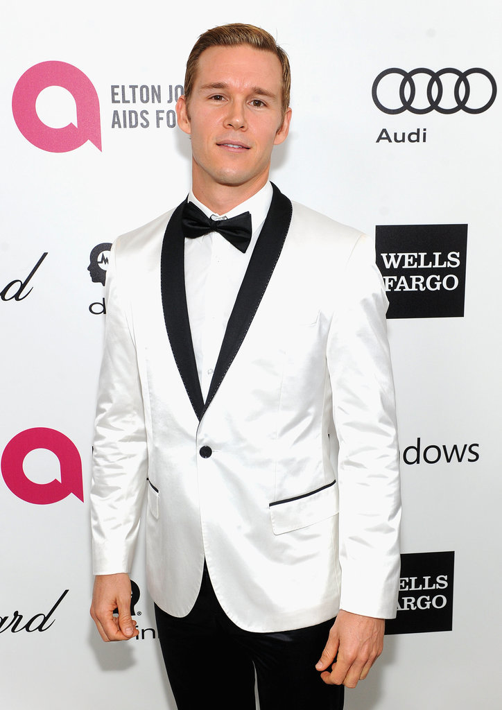 True Blood's Ryan Kwanten looked dapper in white.