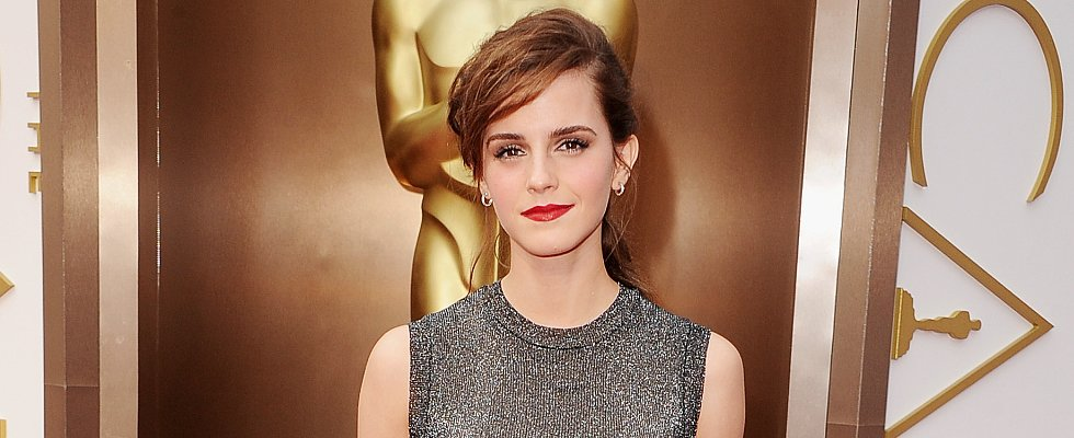 Does Emma Watson's Half-Up Hairdo Convince You Edgy Is Best?