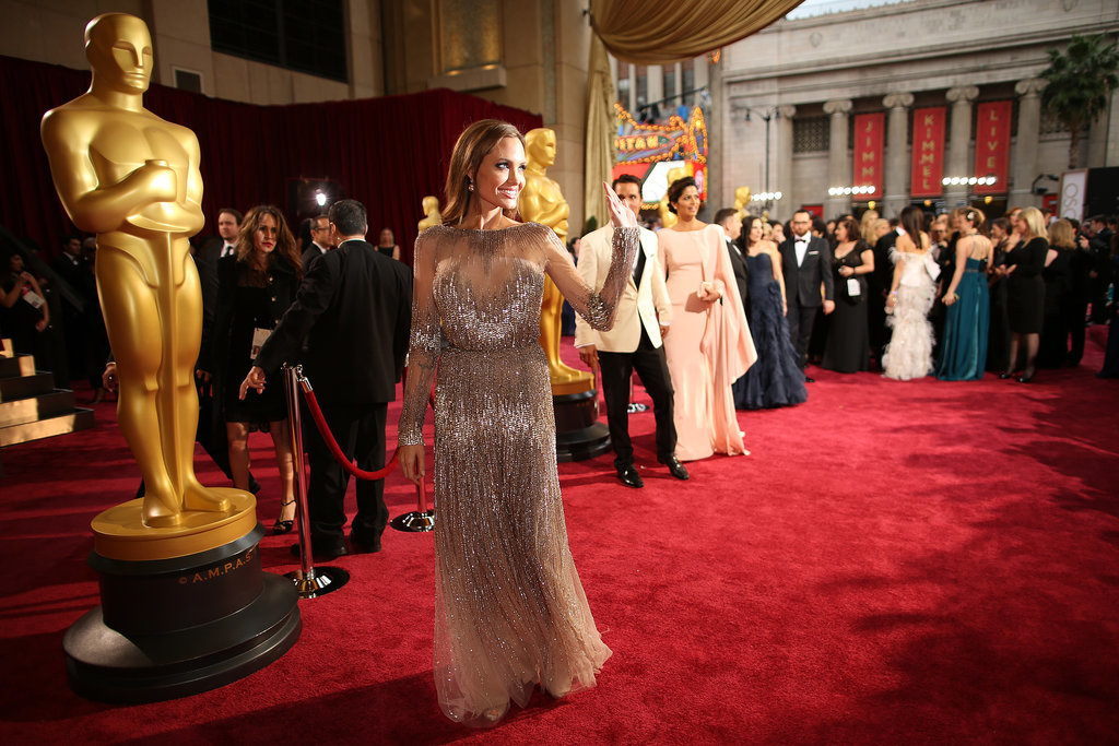 Angelina Jolie at the 2014 Oscars.