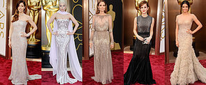 We're Noticing a Metallic Moment on the Oscars Red Carpet