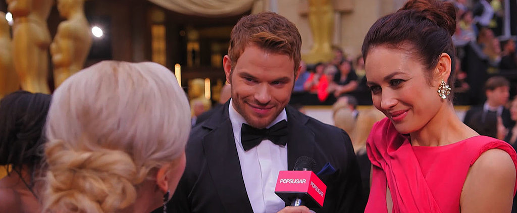 Kellan Lutz and Olga Kurylenko Talk Sustainable Fashion and Partying Down at Oscars