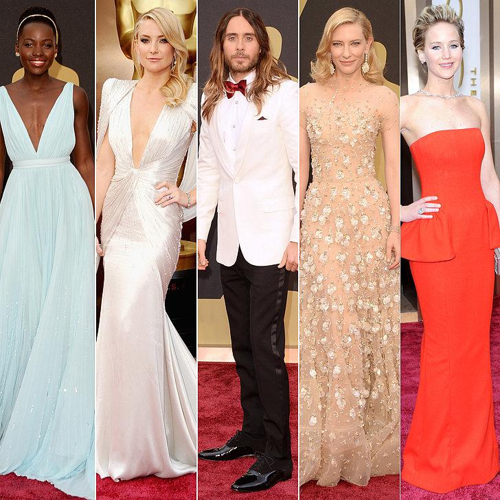 Best Dressed at Oscars 2014