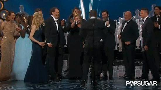 Steve McQueen Literally Leaped For Joy After Winning