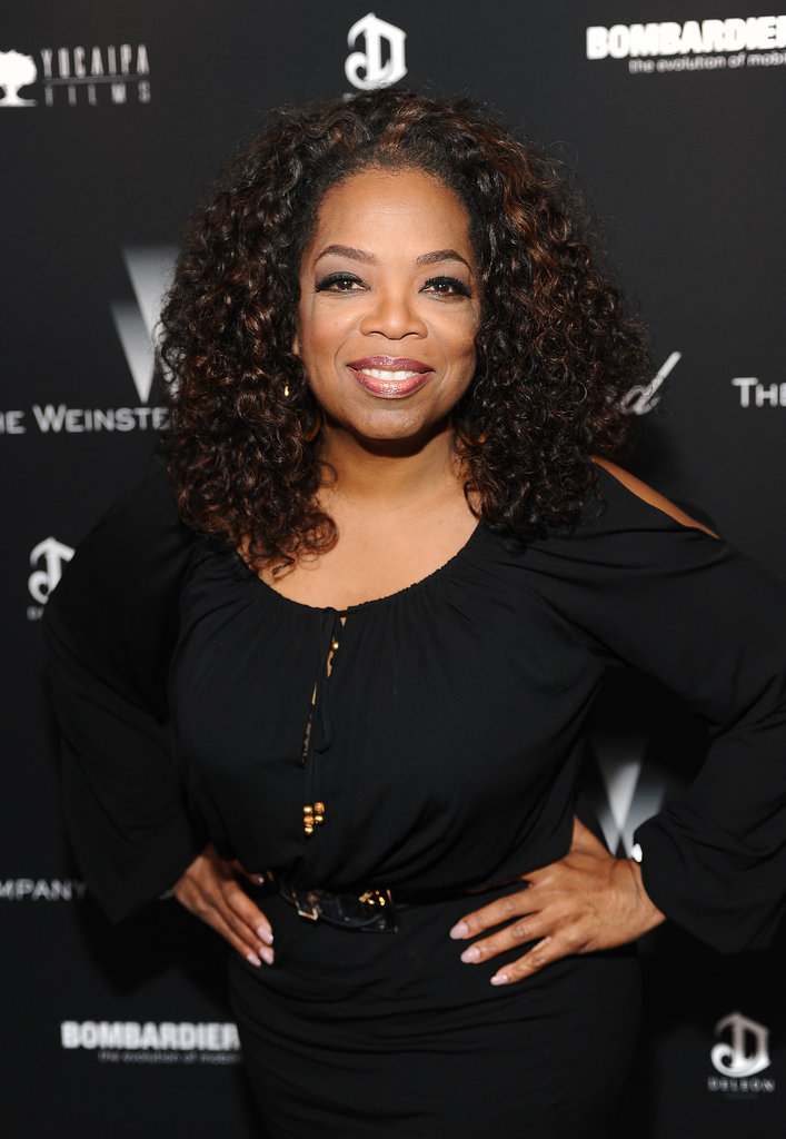 Oprah Winfrey at The Weinstein Company's Academy Awards Party