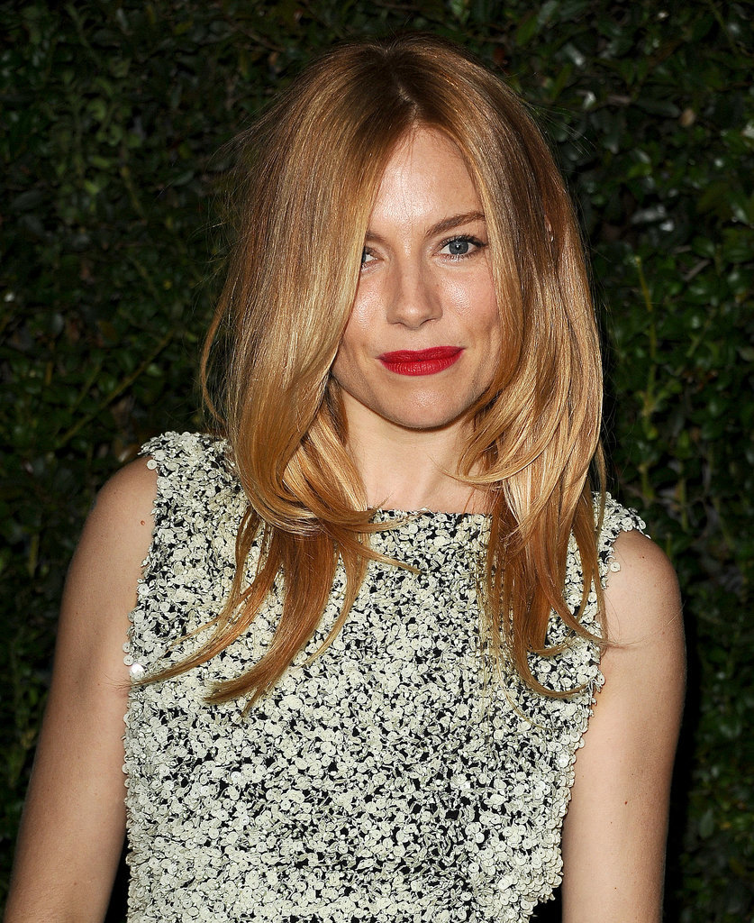 Sienna Miller at Chanel Pre-Oscars Dinner