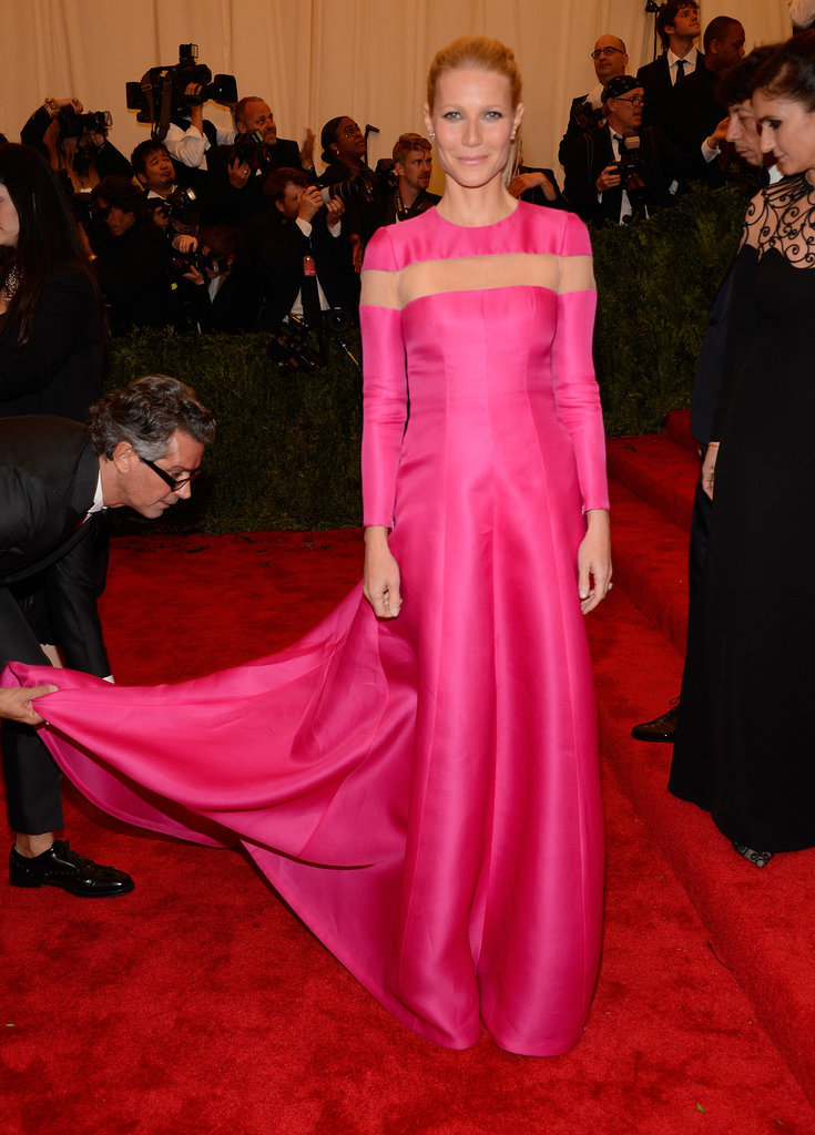Gwyneth Paltrow in Valentino at the 2013 Met Gala