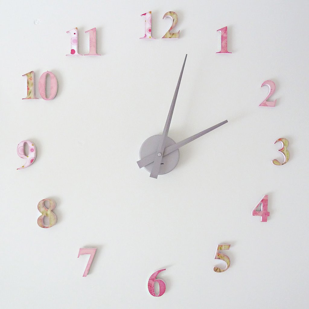 Diy Clock 11 Diy Decor Ideas For Baby 39 S Nursery