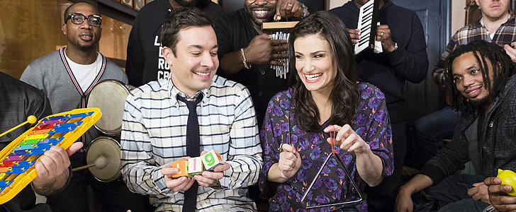 "Jimmy Fallon and Idina Menzel Do ""Let It Go"" With Classroom Instruments"