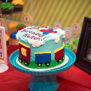 Transportation-Themed Kids' Birthday Party