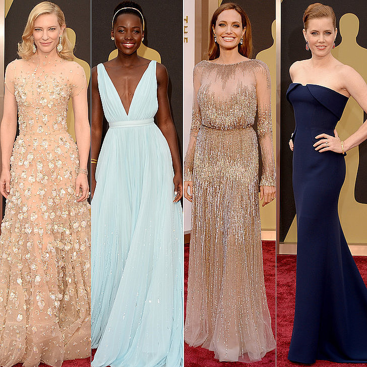 Designer Dresses Red Carpet 2014 The 2014 Oscars Red Carpet