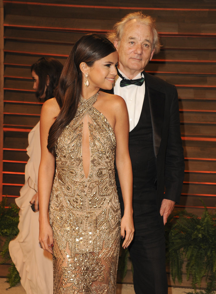Selena Gomez got a surprise photobomb from Bill Murray.
