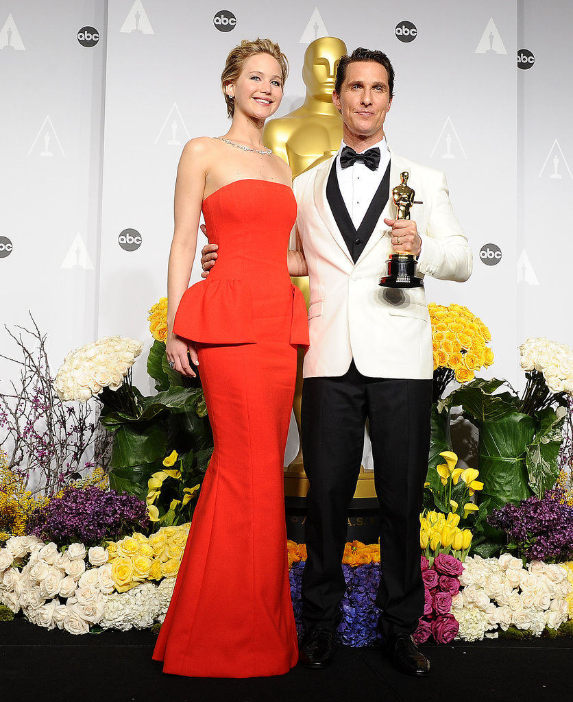 Jennifer Lawrence at the Oscars 2014 | POPSUGAR Celebrity