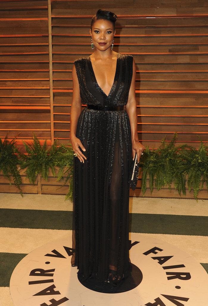 Gabrielle Union at the 2014 Vanity Fair Oscars Party