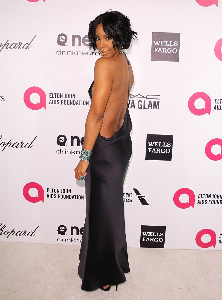 Kelly Rowland at the 2014 Annual Elton John AIDS Foundation Academy Awards Viewing Party