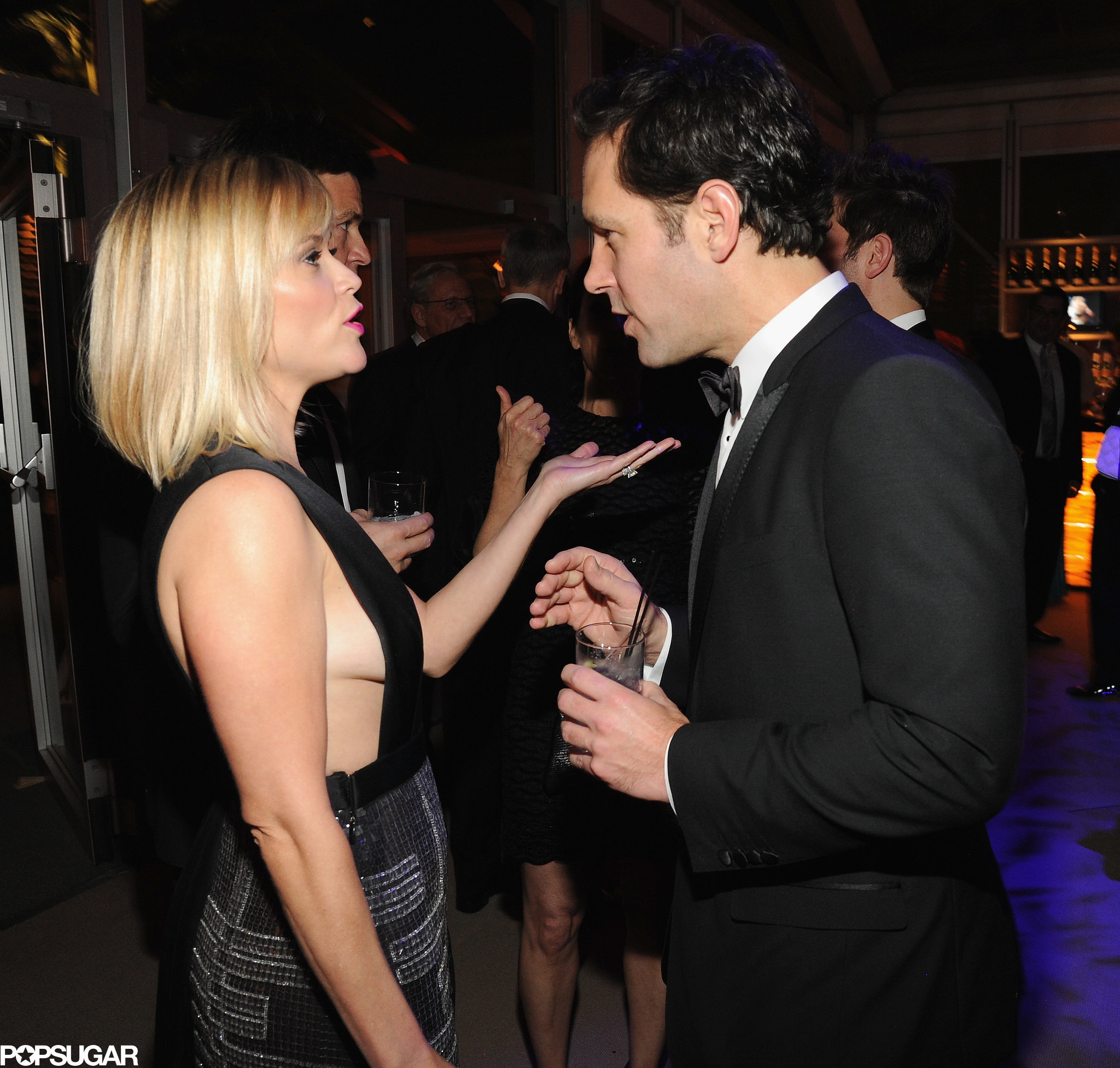 Reese Witherspoon met up with her How Do You Know costar Paul Rudd.