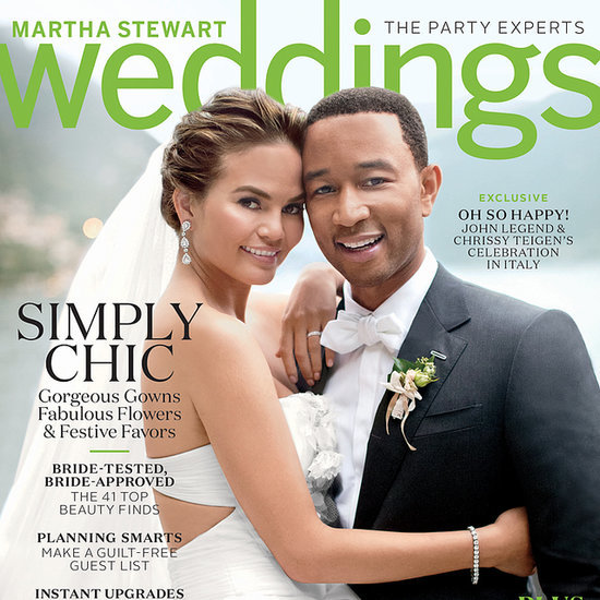 Chrissy Teigen Wedding Dress Photos