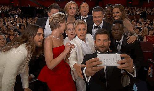But Perhaps Our Favorite Moment Was When She Participated in the Most Epic Selfie Ever