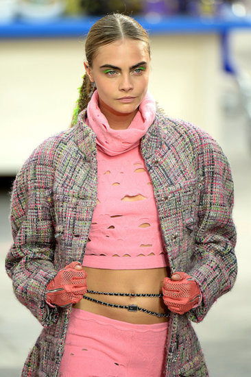 Chanel's PFW Runway Gives Us a Reason to Doll Up For the Supermarket