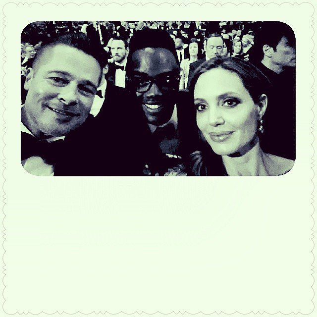 """And Angelina Jolie """"Insisted"""" on Snapping This Selfie"""