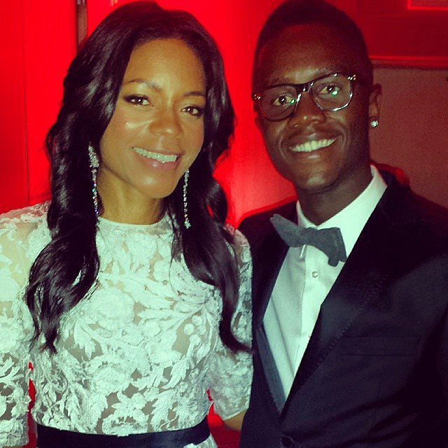 And Professed His Love to Naomie Harris