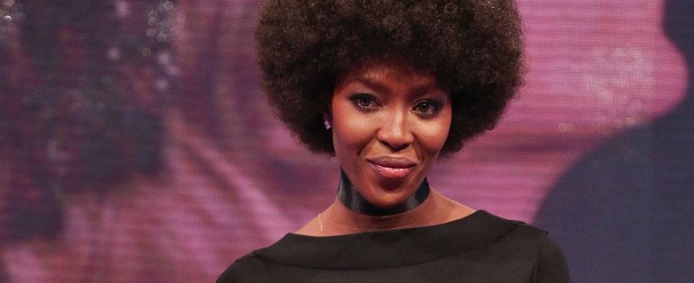 Naomi Campbell Wore an Afro, and It's Amazing!