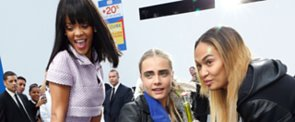 Rihanna and Cara Delevingne Go Shopping at Chanel!