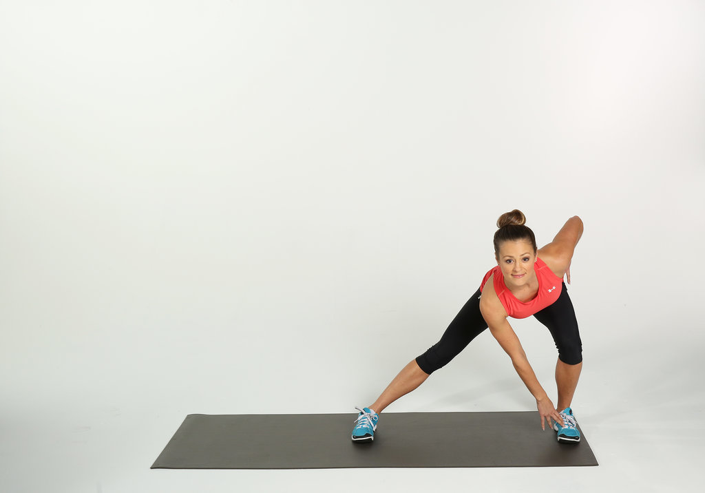 Pulsing Left Side Lunges