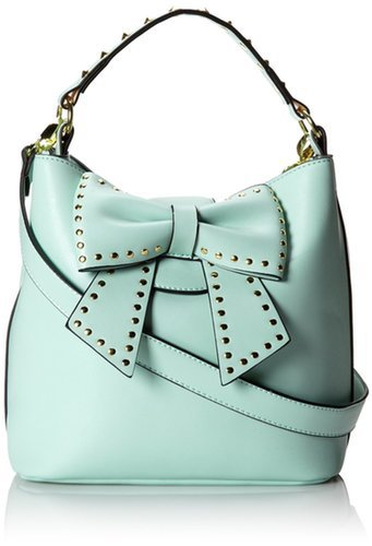Amazon.com: Betsey Johnson Hopeless Romantic Bucket Shoulder Bag,Leopard,One Size: Shoes