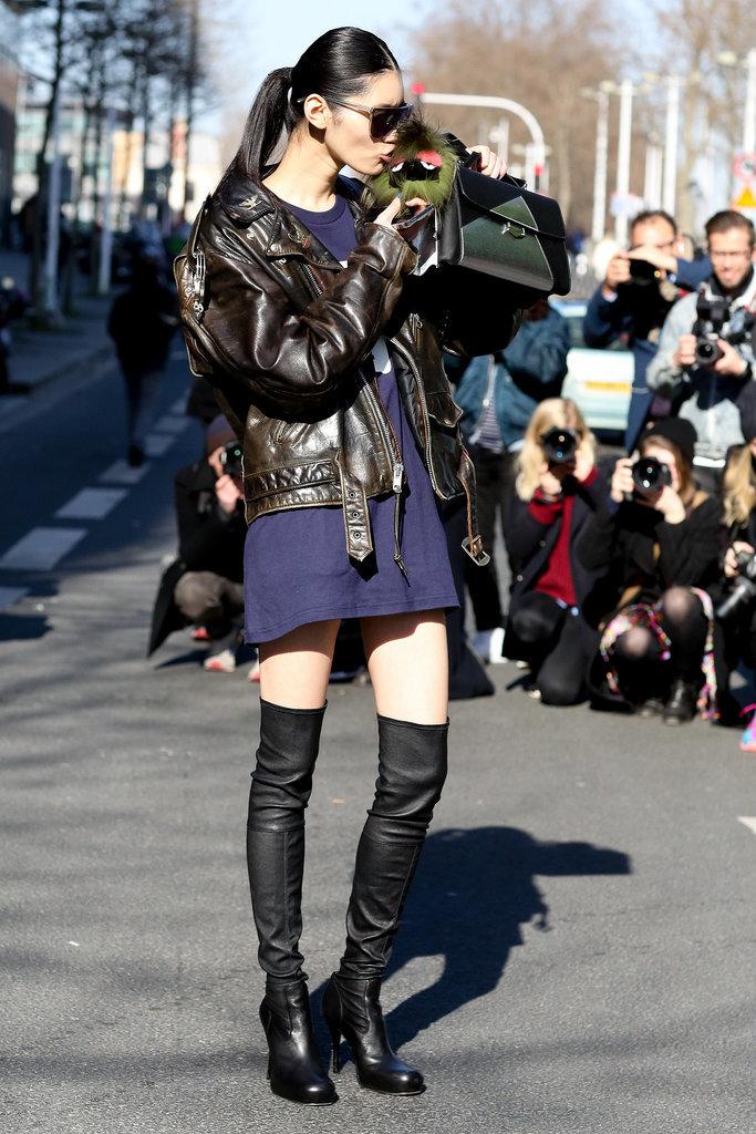 PFW Model Street Style Day Six