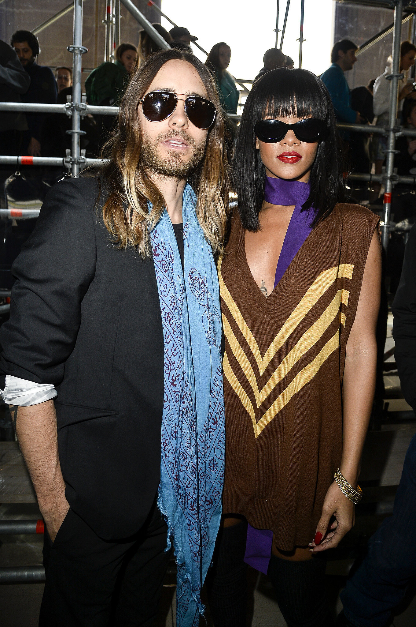 Lupita and Jared Take Their Post-Oscars Glow to Paris