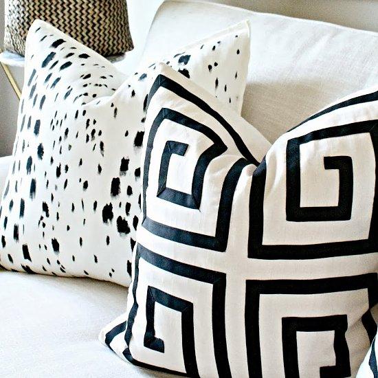 Painted Pillow DIY
