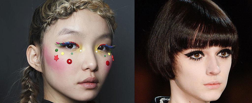 See the Dramatic Eyelash Looks From Paris Fashion Week