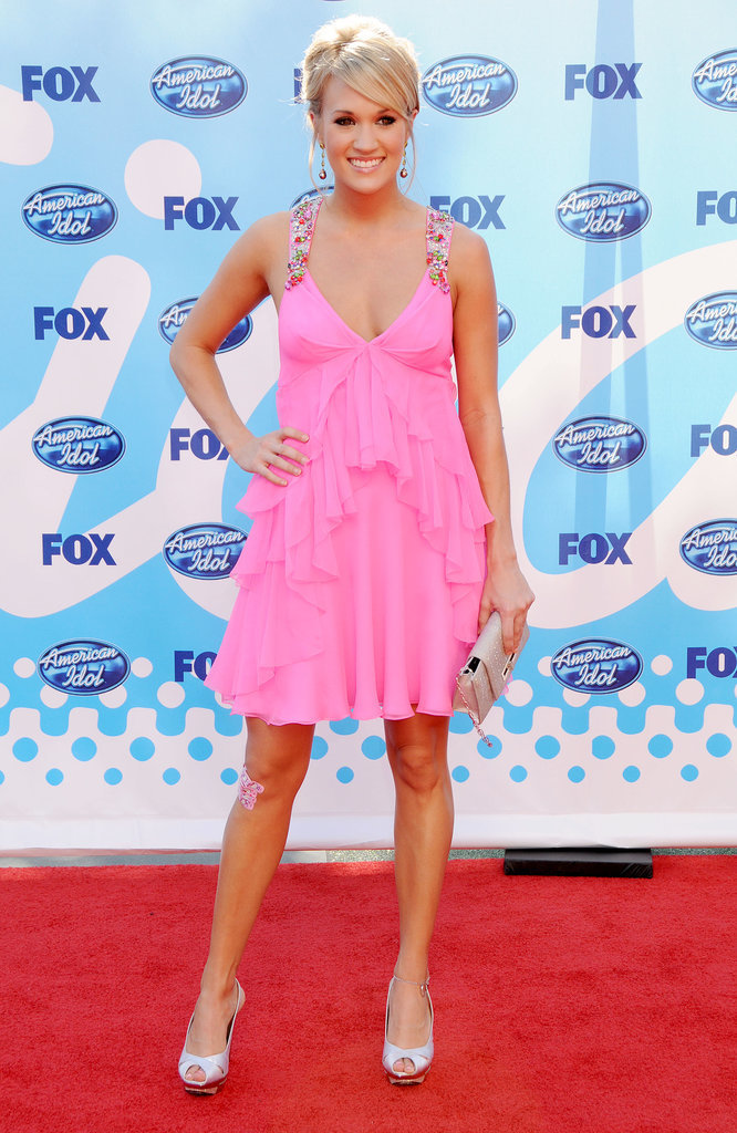 She coordinated her fluttering hot-pink party dress with endearing Hello Kitty Band-Aids in 2009.