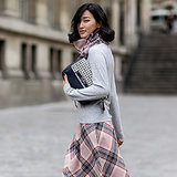 2014 Autumn Winter Paris Fashion Week Street Style