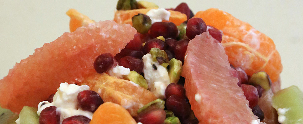 An End-of-Winter Antioxidant-Rich Fruit Salad