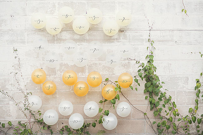Create a Balloon Seating Chart