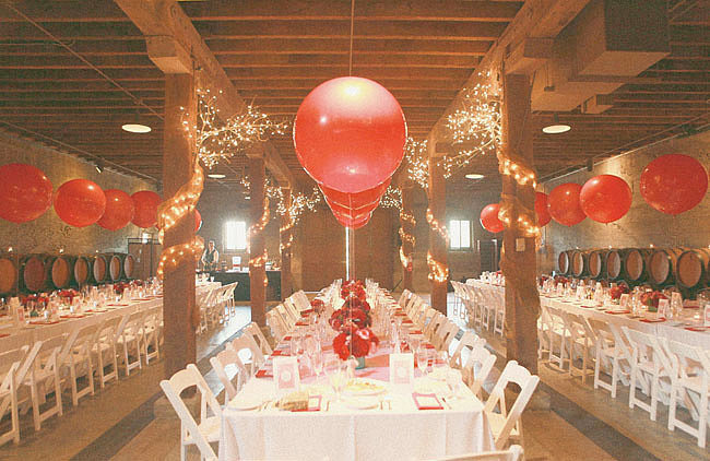 Match Balloons to the Tablescape