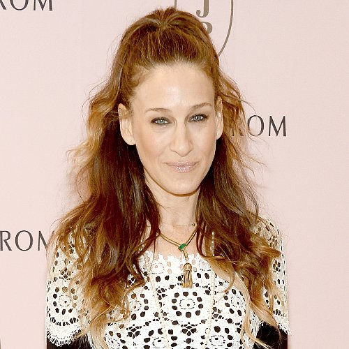 Sarah Jessica Parker Half-Up Hairstyle Look
