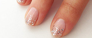Sparkling Nail Art For the DIY Bride
