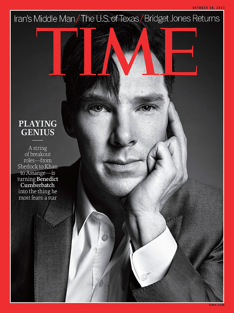 he thought his time magazine cover was a joke 6 things we learned from benedict cumberbatch 39 s. Black Bedroom Furniture Sets. Home Design Ideas
