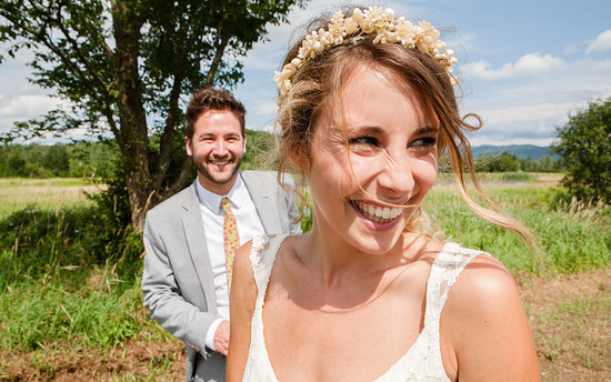 Amy and Mark's Earthy, Laid-Back Big Day