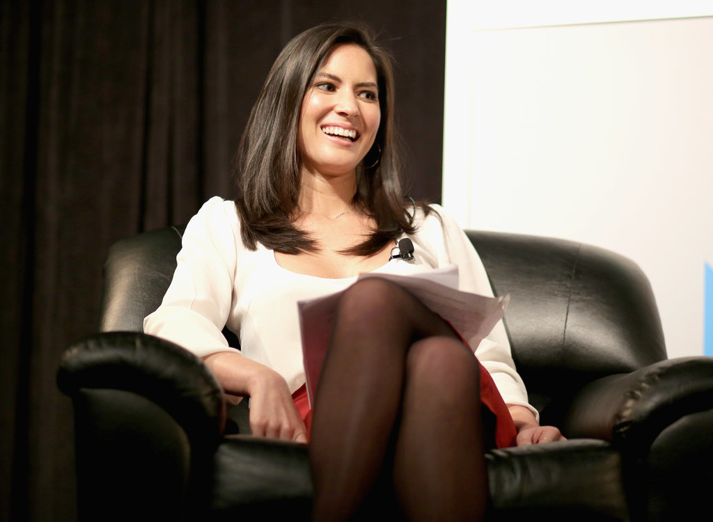 Olivia Munn attended a panel on Saturday.