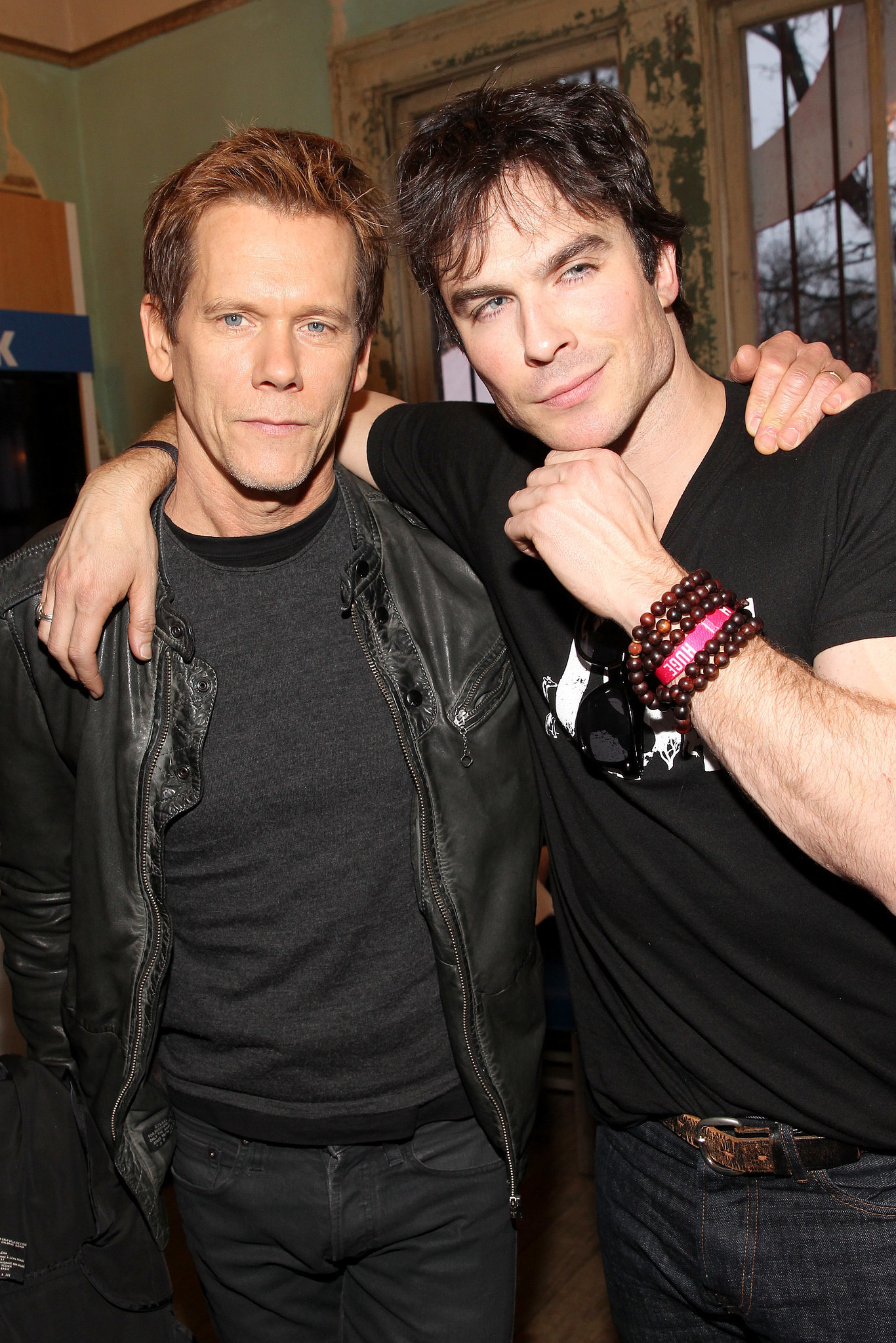 Ian Somerhalder and Kevin Bacon linked up at SXSW on Saturday.