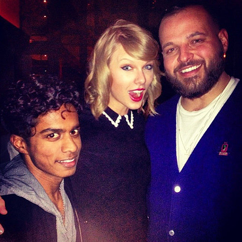 Lena Dunham and Taylor Swift With Mean Girls Cast