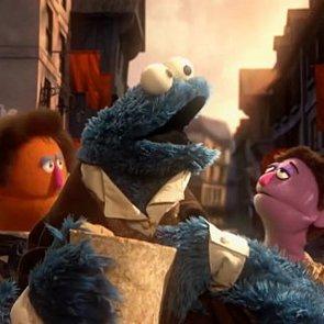 Sesame Street Les Miserables Parody