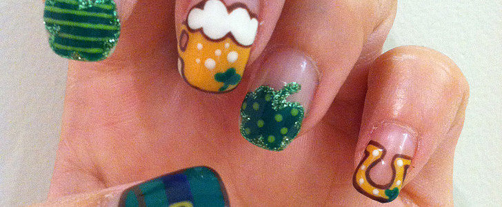 DIY This Festive St. Patrick's Day Nail Art